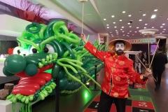 ANIMATION NOUVEL AN CHINOIS  - BALLONS ET JONGLAGE